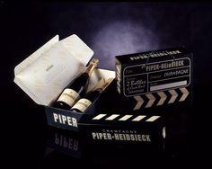 Champagne Piper Heidsieck - Coffret Cinema. Memento #Linea
