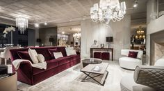 <p>Luxury Living Group showed off its Bentley Home Collection in special showrooms last December at Art Basel Miami Beach. The items included chandeliers, couches, tables and chairs made exclusively for Bentley automotive.</p>