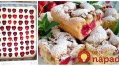 Krehučká bublanina s jahodami: Podľa tohoto receptu pečiem už 30 rokov, je to najlepší koláč pod slnkom! Waffles, Breakfast, Basket, Morning Coffee, Waffle