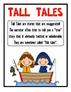 Tall taleste idea students make up their own tall tale or one extra degree tall tales unit request fulfilled snag a freebie pronofoot35fo Gallery
