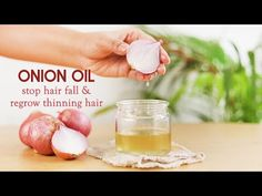 LITTLE DIY - YouTube Onion Oil For Hair, Hair Oil, Hair Growth Treatment, Hair Growth Oil, Home Remedies For Skin, Fast Hairstyles, Health And Beauty Tips, Fall Hair, Healthy Hair