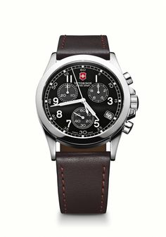 - Watch Made in Switzerland W/Precision Swiss Analog Quartz Movement - Scratch Resistant, Triple Coated, Anti-Reflection Sapphire Crystal - Water resistant to 100M - Stainless Steel Case - Luminous Ha