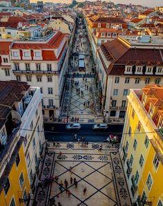 Praça do Rossio in Lisboa, Região de Lisboa | Portugal