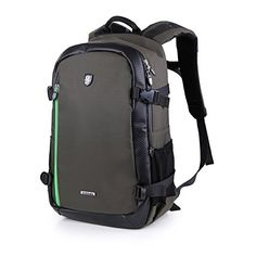 Oxford Large Capacity Multifunction Waterproof Antishock DSLR Gadget Camera Bag Professional Gear Photography Travel Backpack Rucksack -- More info could be found at the image url.