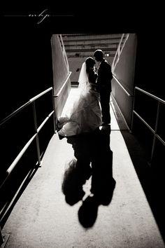 Lambeau Field Wedding in Green Bay, WI  http://markhawkinsphoto.com