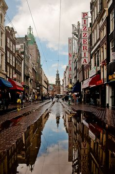 Amsterdam after rain
