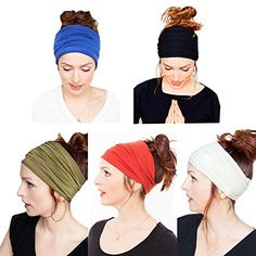 Yoga Headband with Multi Style for Sports Fashion or Travel Pack of 5 (Black Blue Green Red White) - Yoga Girls  ||  Related eBooks buy now $15.99 You can style the headband to suit your mood, hairstyle, or activity. Wear it wide, turban style, folded- just to name a few of the options. The sweat-wicking properties of our Headbands keeps the sweat out of your…