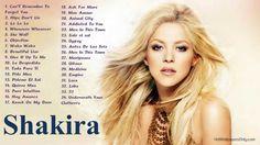 Shakira's Greatest Hits ☞ Best Songs Of Shakira 2014