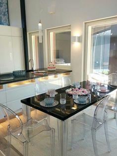 Keittiö - Asuntomessut 2015 Vantaa. Decor, Vanity Mirror, Vanity, Furniture, Home Decor, Mirror