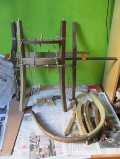Poltroncina in legno 800: incollaggio