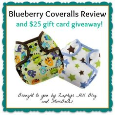 Blueberry Coveralls Diaper Cover Review & Giveaway Ends: 4/8/13