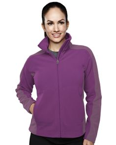 Women's Micro Fleece Bonded Jacket With Membrance (100% Polyester). Tri mountain 7860 # MicroFleece #Jacket #winter