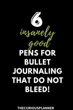 looking for some awesome and cheap bullet journal pens!? Here are 6 of the ultimate best pens for bullet journal you will love! -- best pens for bullet journaling dont bleed, best pens for bullet… Best Bullet Journal Pens, Pens For Bullet Journaling, August Bullet Journal Cover, Bullet Journal Cover Ideas, Bullet Journal Mood, Bullet Journal Aesthetic, Bullet Journal Spread, Bullet Journal Inspiration, Best Pens