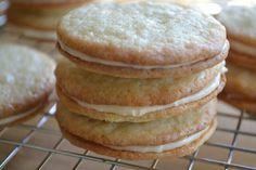 Vanilla Bean Sandwich Cookies