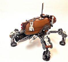 #LEGO #Steampunk CrabiKoma steam tank.