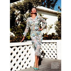 Anne Vyalitsyna by Nicolas Moore for Allure April 2012 found on Polyvore