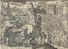 Alexander directs an assault upon Tyre (Antonio Tempesta, 1608)