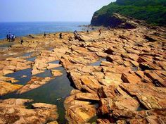 Tung Ping Chau island - known for its rich marine ecosystem & unique rock formations