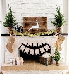 ber ideen zu weihnachten kamin auf pinterest. Black Bedroom Furniture Sets. Home Design Ideas