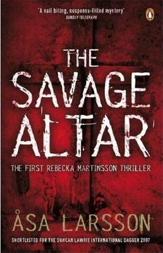 the savage altar by Asa Larsson. Brilliant thriller writer, love all her books - set in Kiruna, Sweden.