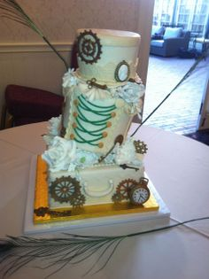 Vintage! #weddingcake #wedding #weddingreception #hortongrandweddings