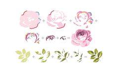 Altenew Build a flower: rose stamp set