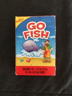 Go Fish 32 Playing Cards Game 3 2014 Bible Edition Boys Girls Table Top Fun | eBay