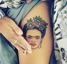 Imagen de tattoo, frida kahlo, and Frida
