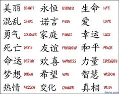 chinese language symbols english - Google Search