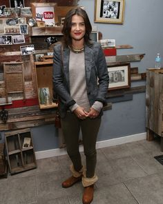 COBIE SMULDERS at Uoutube Event for They Came Together Premiere at 2014 Sundance Film Festival