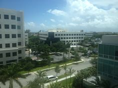 View from our office at Best of Luxury Realty: 20900 NE 30th Ave. Aventura FL. (305)  407-1657