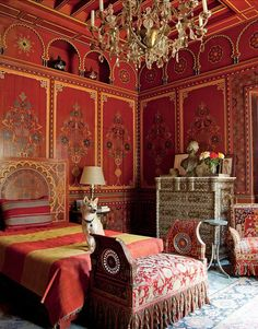 Inside Yves Saint Laurent and Pierre Berge's Moroccan oasis