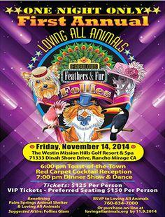 Feathers & Fur Follies Fundraiser