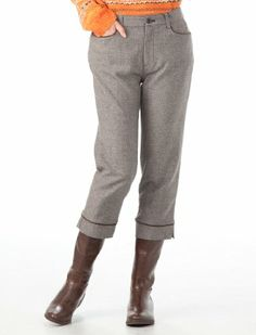 Amazon.co.jp: (デコイ)DECOY パイピング使いクロップドパンツ: 服&ファッション小物