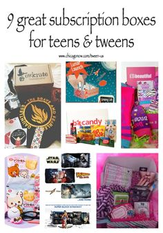 Subscription boxes that are great for teens and tweens make holiday gifting easy for the tough to buy for age group