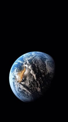 Asia At Night Earth Space Dark Iphone 7 Wallpaper Iphone 6 8