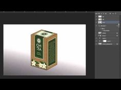 Create a realistic 3D preview of your packaging in Photoshop - Tutorial 20 - YouTube