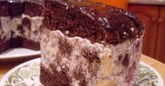 Вкуснейший шоколадный торт, в котором много крема со свежими фруктами. Для теста 5 яиц не взбиваем, а просто смешиваем с 1 стаканом ...