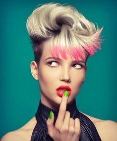 Chromatic - Helen Tether Hair Magazine, Hair Looks, Hairdresser, Gypsy, Short Hair Styles, Photography, Color, Contrast, Studio