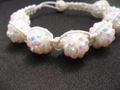 Hemp bracelet // shamballa bracelet // braided by CaliGirlCustoms, $12.99