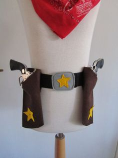 Cowboy Sheriff Texas Ranger Holster on Etsy, $17.15
