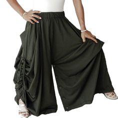 SALE 50  Off Ladies Convertible Pant Or Skirt Long by thaisaket, $24.99