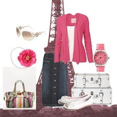 Summer Pink, created by charitree.polyvore.com