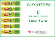Amostras e Passatempos: Passatempo CARMEX Lime Twist by Pormenores