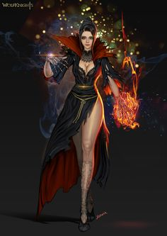 Storm Witch Character
