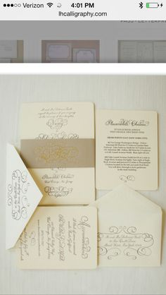 Potentially interested in idea of doing monogram around invite