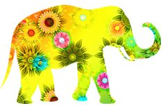 Shop Hippie Bohemian Floral Elephant Canvas Print created by ZenPrintz. Elephant Zoo, Elephant Canvas, Elephant Shirt, Elephants, Zoo Clipart, Elephant Meaning, Animal Quiz, Elephant Cross Stitch, Dream Meanings