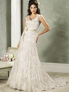 Lace Wedding Dress #wedding #dress #lace