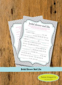 Hey, I found this really awesome Etsy listing at https://www.etsy.com/listing/151282673/instant-upload-bridal-shower-game-mad
