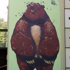 New mural by @Marloes VanSchaijk VanSchaijk Frickel in Richmond, Virginia for the Richmond Mural Project.